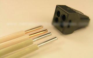 Клеммы для соединения алюминиевых и медных проводов – советы электрика