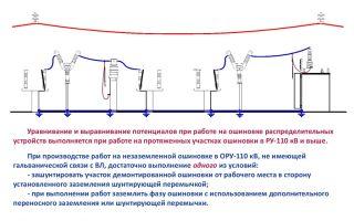 Уравнивание потенциалов доходчиво – советы электрика