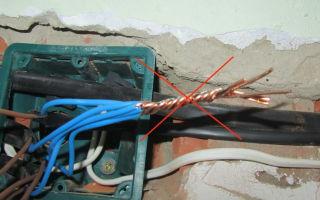Скрутка алюминиевых проводов – советы электрика