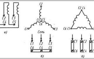 Схема соединения обмоток электродвигателя – советы электрика