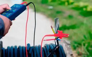 Измерение сопротивления изоляции мегаомметром кабельных линий – советы электрика