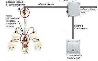 Как подключить светильник – советы электрика