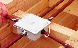 Скрытая проводка в деревянном доме – советы электрика
