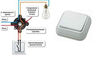 Соединение проводов в распределительной коробке на выключатель – советы электрика