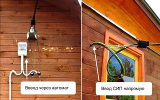 Как завести электричество в деревянный дом – советы электрика