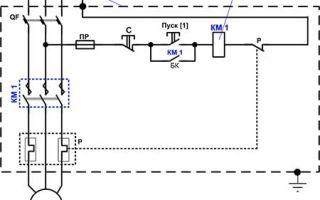 Схема подключения пускателя с катушкой 220в – советы электрика