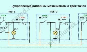 Схема подключения кнопочного поста – советы электрика