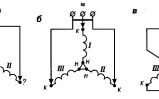 Определение обмоток трехфазного двигателя – советы электрика