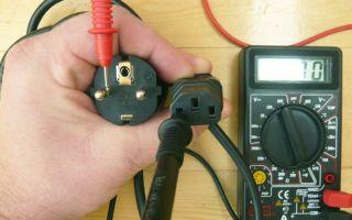 Как проверить обрыв цепи мультиметром – советы электрика