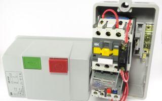 Кнопочный пост с пускателем – советы электрика