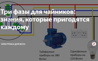 Фаза электрическая это – советы электрика