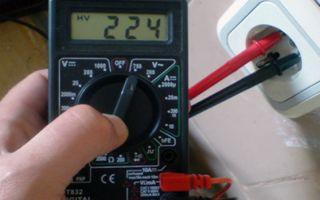 Как измерить вольтаж мультиметром – советы электрика