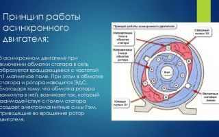 Принцип действия асинхронного электродвигателя – советы электрика