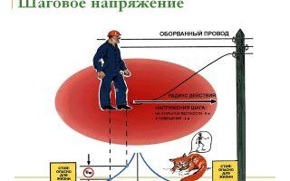 Понятие шагового напряжения – советы электрика