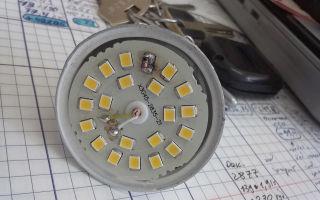 Неисправности светодиодных ламп на 220 вольт – советы электрика