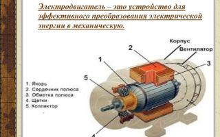 Устройство электродвигателя переменного тока – советы электрика