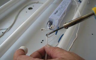 Ремонт люминесцентных ламп своими руками – советы электрика