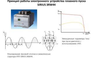Плавный пуск электродвигателя – советы электрика