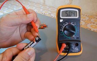 Как замерить силу тока аккумулятора мультиметром – советы электрика