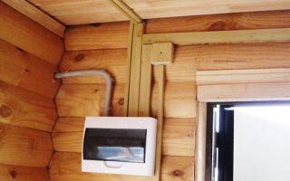 Электрическая проводка в деревянном доме – советы электрика