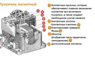 Ремонт магнитного пускателя – советы электрика
