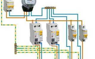 Подключение двухполюсного автомата – советы электрика
