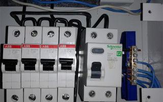 Вводной автоматический выключатель – советы электрика