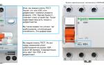 Разница между узо и дифференциальным автоматом – советы электрика