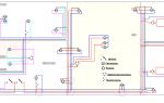 Электропроводка в панельном доме схема – советы электрика
