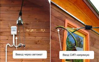 Ввод электричества в дом проводом сип – советы электрика