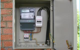 Подключение вводного кабеля к распределительному щиту – советы электрика