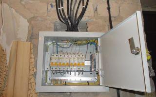 Распределительный щит для электропроводки – советы электрика