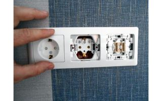 Розетки с подрозетником – советы электрика