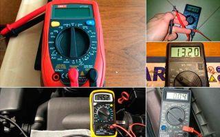 Мультиметр как пользоваться в автомобиле – советы электрика