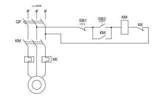 Схема пуска двигателя – советы электрика