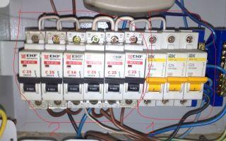 Подключение проводки к автоматам – советы электрика