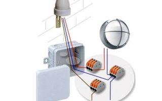 Подключение датчика освещенности – советы электрика