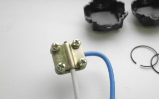 Орехи для соединения кабеля – советы электрика