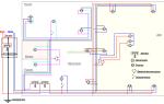Электрическая схема квартиры – советы электрика