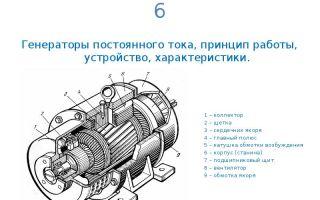 Как устроен генератор постоянного тока – советы электрика