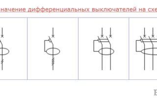 Обозначение узо на схеме – советы электрика