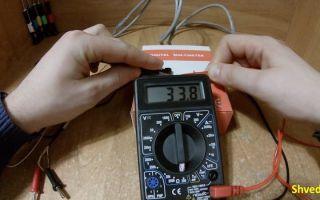 Как проверить мультиметром провод на разрыв – советы электрика