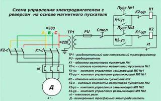 Схема подключения магнитного пускателя – советы электрика