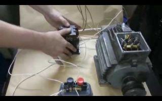 Подключение трехфазного двигателя – советы электрика