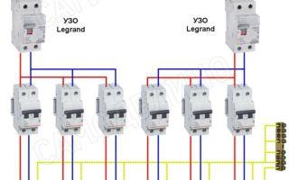 Узо легранд схема подключения – советы электрика