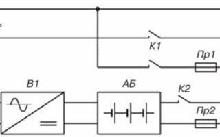 Схема аварийного освещения с аккумулятором – советы электрика