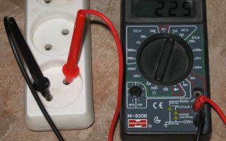 Как проверить фазу мультиметром – советы электрика