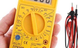 Обозначения на тестере мультиметре – советы электрика