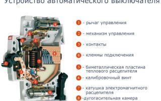Тепловая защита автоматического выключателя – советы электрика