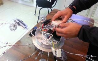 Ремонт светодиодной люстры – советы электрика
